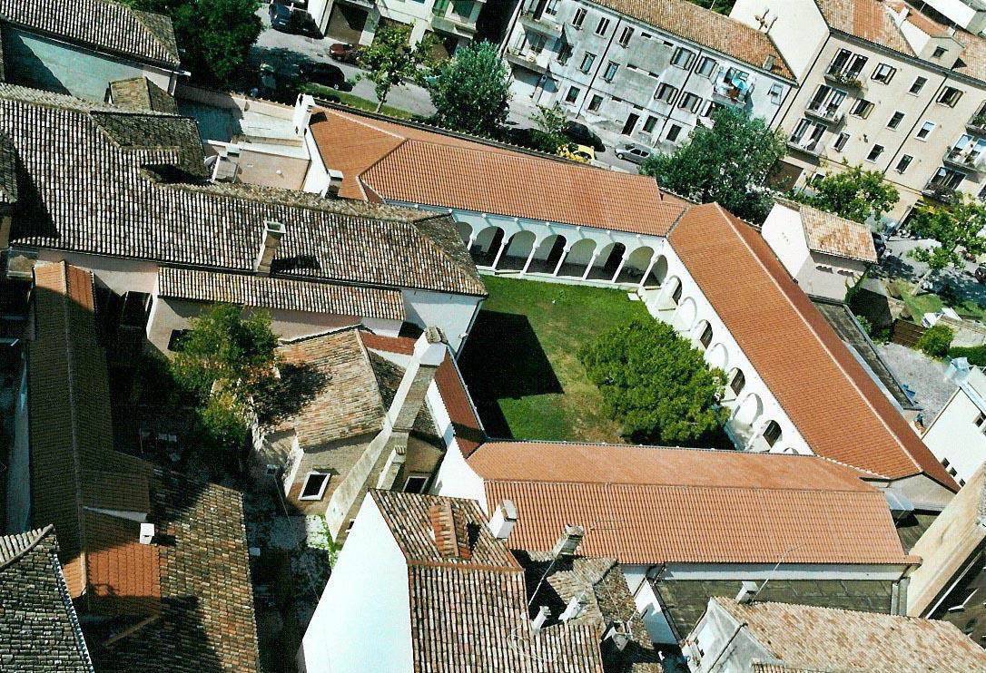 veduta aerea del Museo Diocesano d'Arte Sacra di Chioggi